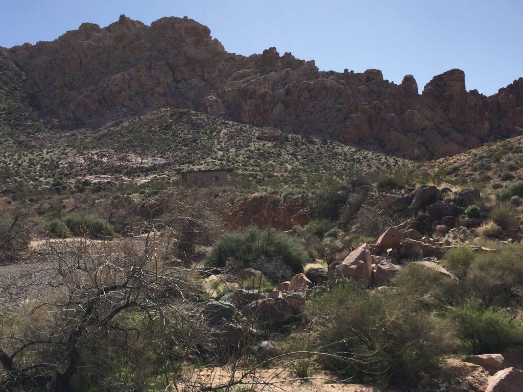 Colorock Quarry, Las Vegas, Nevada, Mine, Moapa Valley, Muddy Mountains