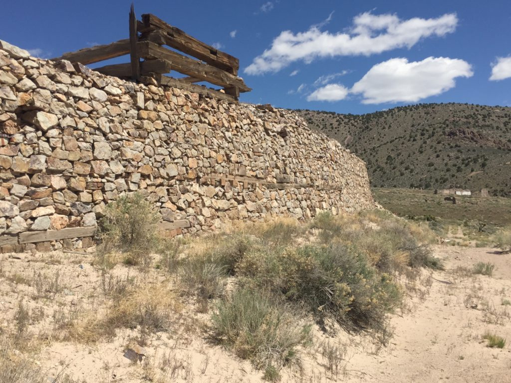 Mine, Nevada, Delamar, Ghost Town, The Widow Maker, Pahranagat Valley, Lincoln County, Great Basin Desert, Dry Lake