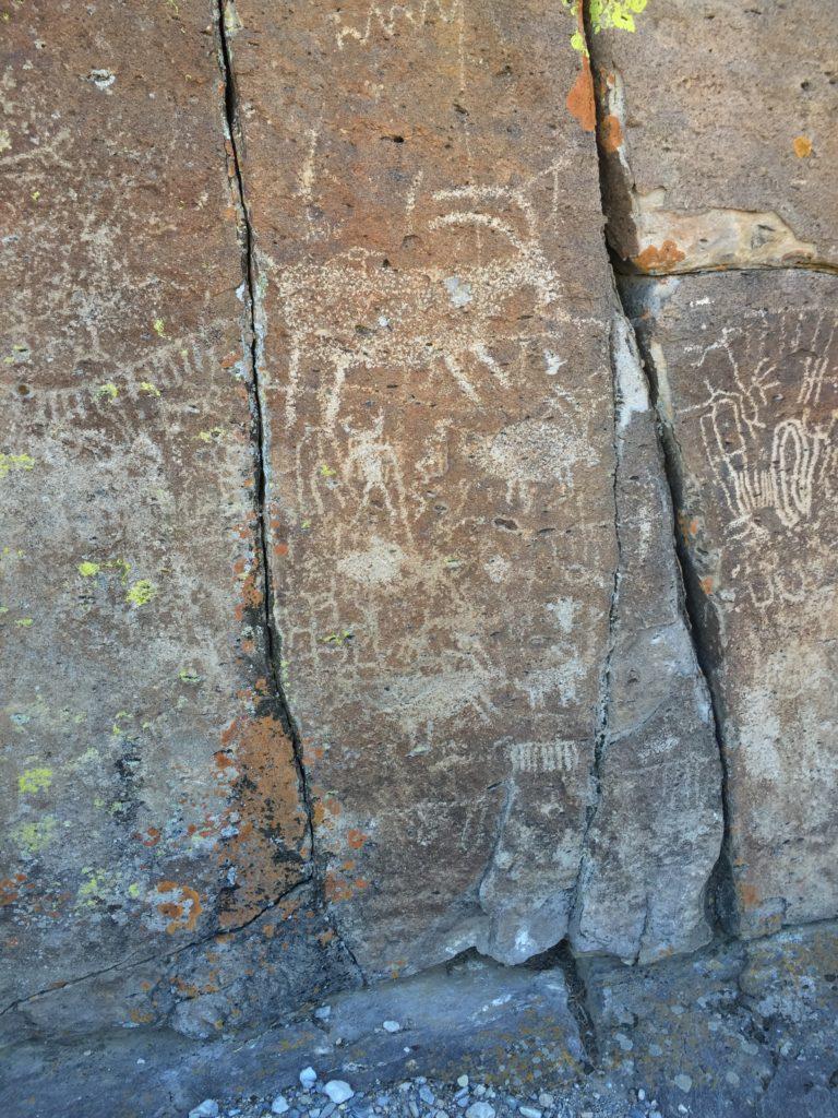 Mt. Irish, Echo Rock, Pahranagat Valley, Lincoln Valley, Nevada, Rock Art, Petroglyphs