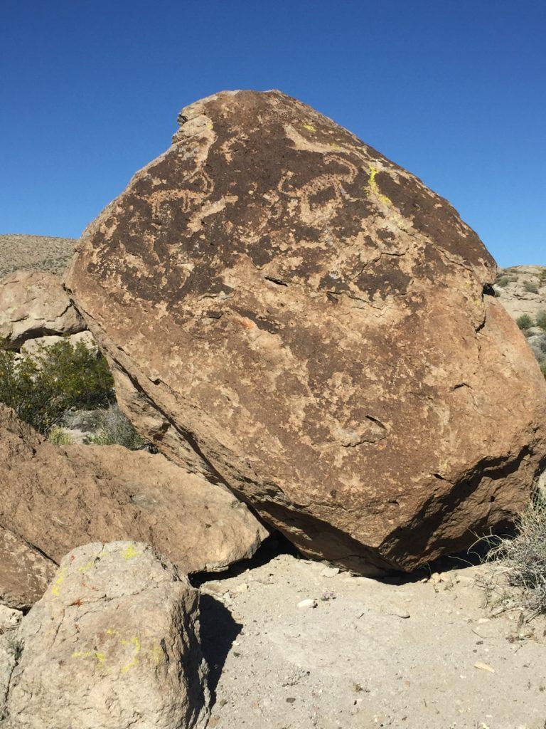 Ash Springs, Pahranagat Valley, Lincoln County, Nevada, Petroglyphs, Rock Art