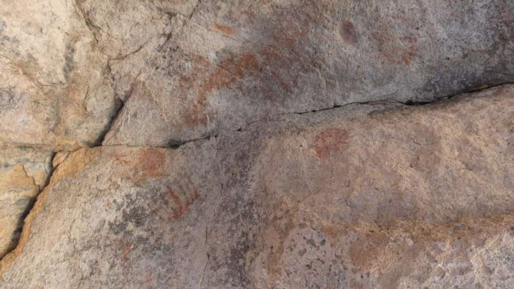 Mary's Cave, Mojave National Preserve, Mojave Desert, California, Petroglyphs, Pictographs, Rock Art