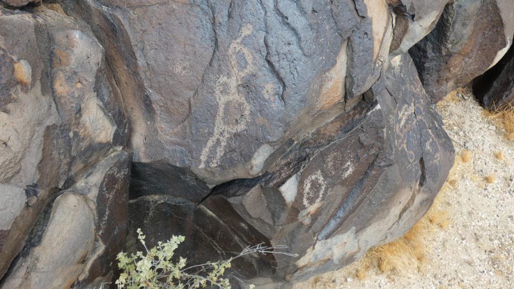 Black Tank Wash, Mojave Desert, Mojave National Preserve, California, Petroglyphs, Rock Art