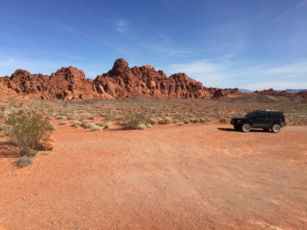 Lone Rock, Nevada, Valley of Fire, Moapa Valley, Petroglyphs, Rock Art, Xterra