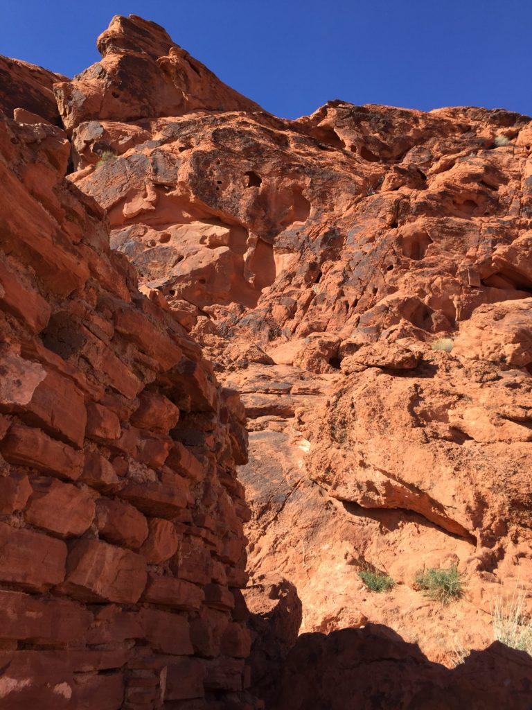 Valley of Fire, Nevada, Moapa Valley, Cabins, Petroglyphs, Rock Art