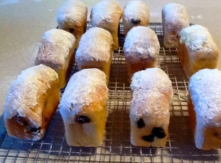 Mini Stollen Loaves