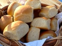 https://www.talesfromthekitchenshed.com |Everyday Bread Rolls | Ted's Rolls | Sarah James