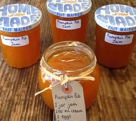 Pumpkin Pie Jam