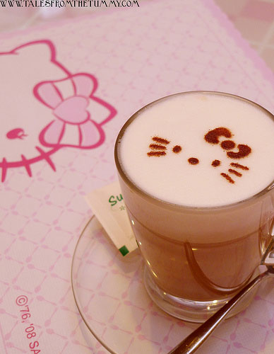Hello Kitty Sweets Café in Taipei, Taiwan