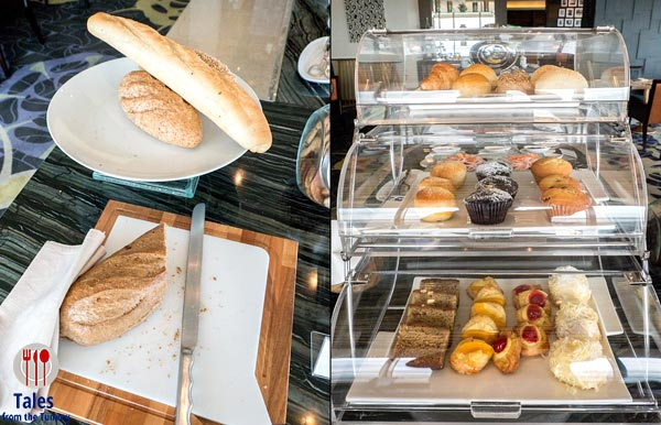 Bellevue Signature Club Lounge Bread