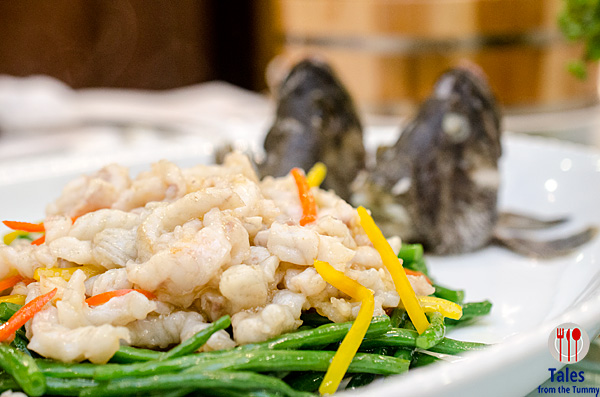 Jade Garden Sauteed Shredded Lapu Lapur with French Beans