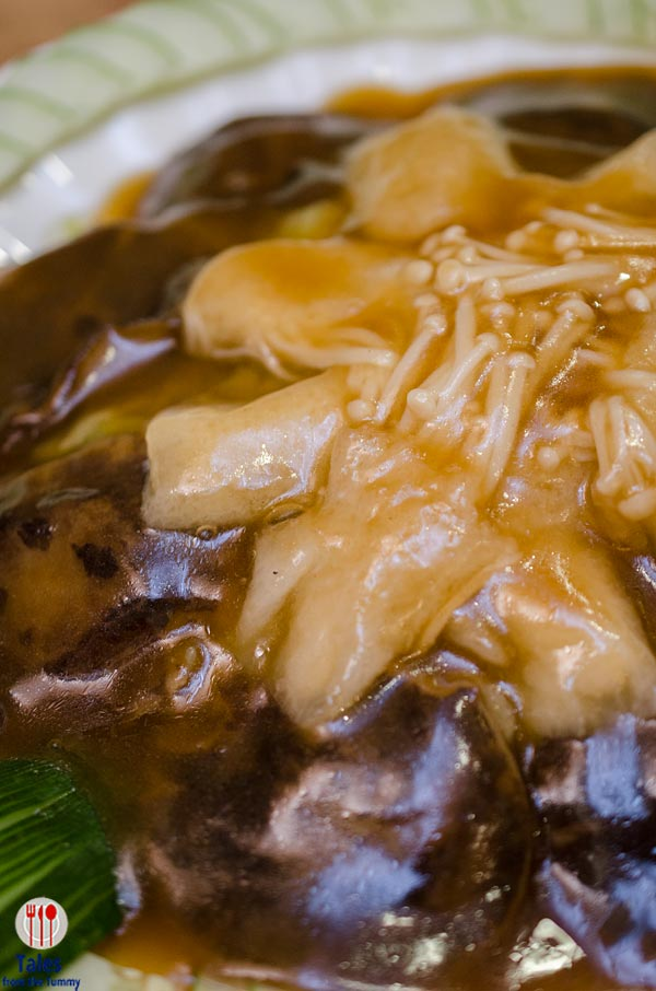 King Chef Braised Bamboo Pith with 2 Kinds Mushroom