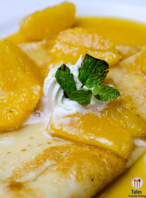 One Way Restaurant Crepes Suzette 01