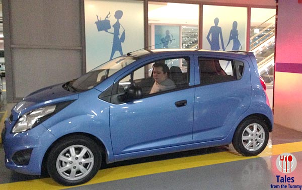 Chevy Spark Parking
