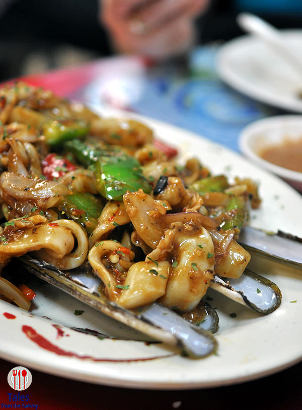 Tung Po Kitchen North Point Sauteed Razor Clams