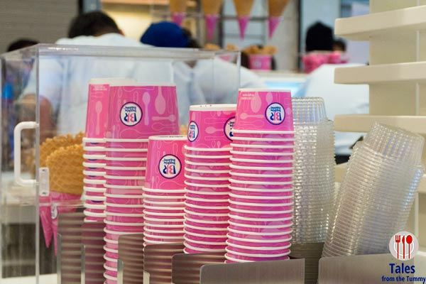 Baskin Robbins Philippines BGC Central Square Pink Cups