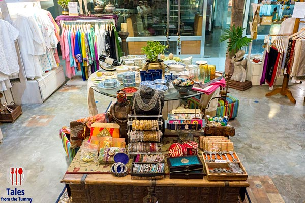 OM Lifestyle and Cafe Greenhills Indian Accessories