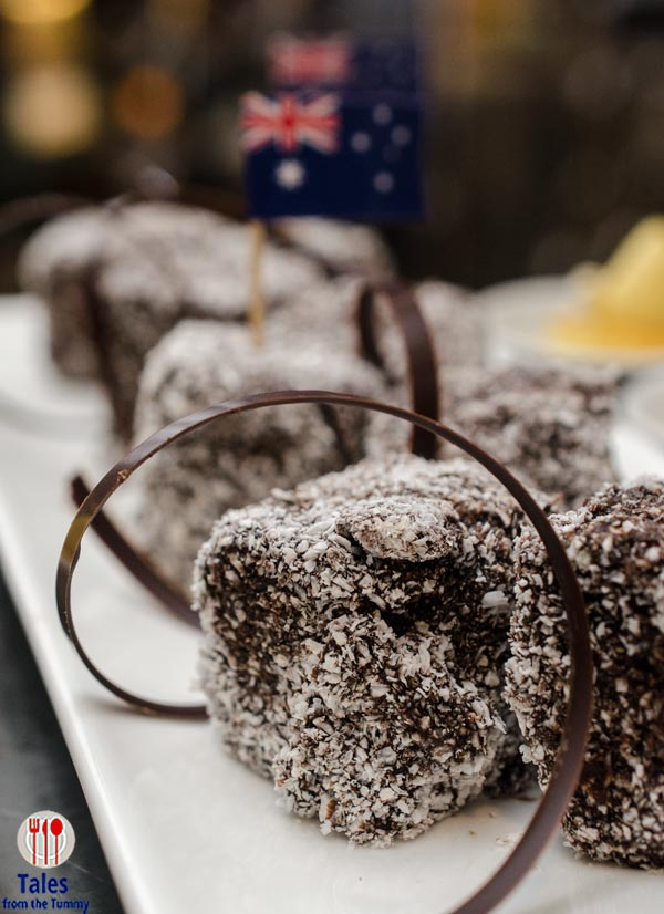 Diamond Corniche Australian Chocolate and Coconut Lamington
