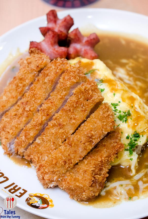 Eri Curry SM Megamall Atrium Katsu Omelette Curry with Sausage