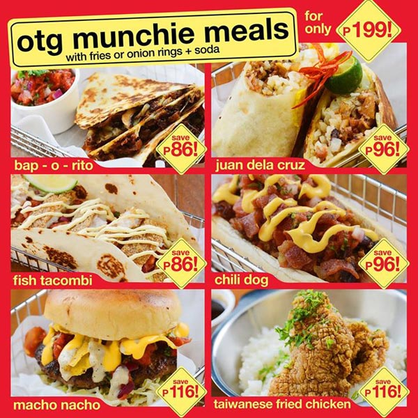 Off The Grid McKinley Hill Munchie Meals