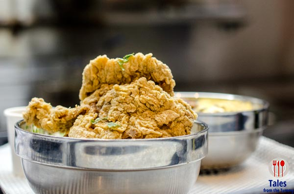 Off The Grid McKinley Hill Taiwanese Fried Chicken Bowl