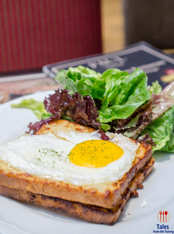 Paul Patisserie and Boulangerie SM Aura Croque Madame