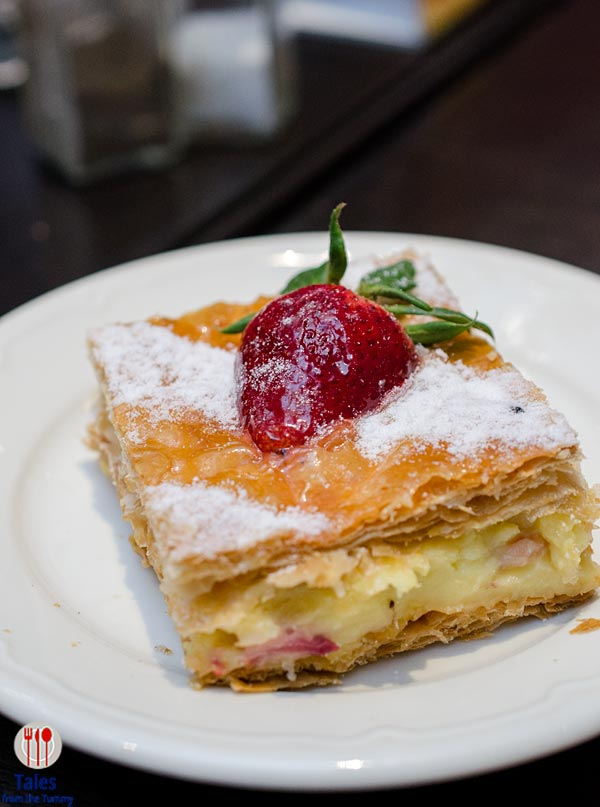 Paul Patisserie and Boulangerie SM Aura Strawberry Millefeuille