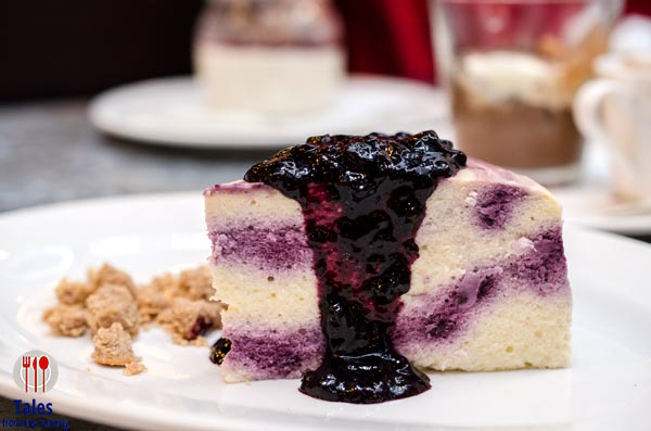Linguini Fini SM Mega Fashion Hall Blueberry Cheesecake