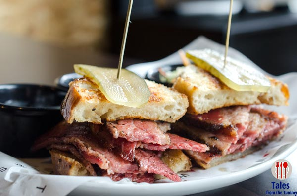 Tipple and Slaw Forum BGC Pastrami Sandwich