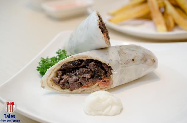 Zabo Chicken SM Jazz Beef Turna Wrap