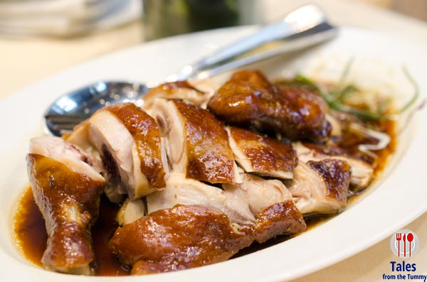 Lung Hin Marco Polo Ortigas Smoked Tea Leaves Chicken