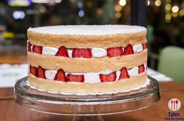 Mesclun Bistro Serendra Strawberry Short Cake