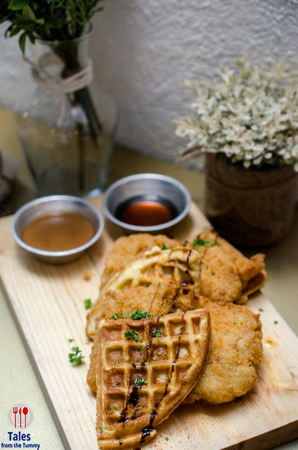 Paprika RCBC Tower BGC Chicken and Waffles
