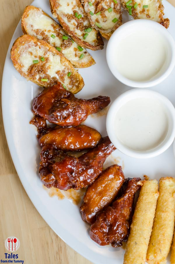 Tony Romas BGC  Appetizer Sampler