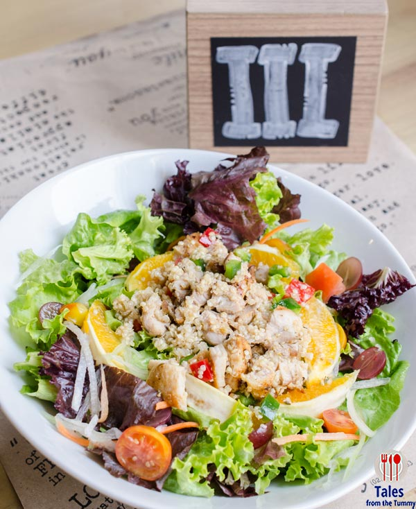 UCC Clockwork Blue Bay Quinoa with Grilled Chicken and Orange Salad