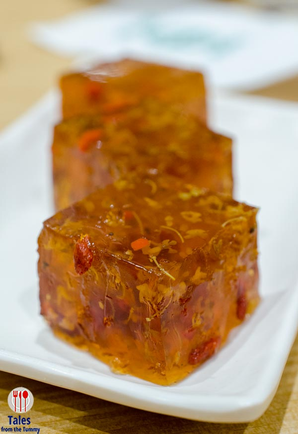 Tim Ho Wan Manila SM Fashion Hall Tonic MEdlar and Osmanthus Jelly