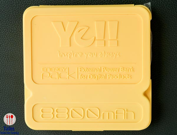 Yell 8800 Energy Pack Container