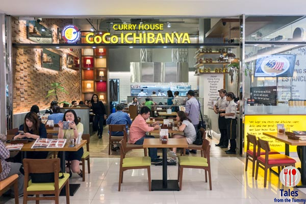 Coco Ichibanya Curry House Estancia Capitol Commons