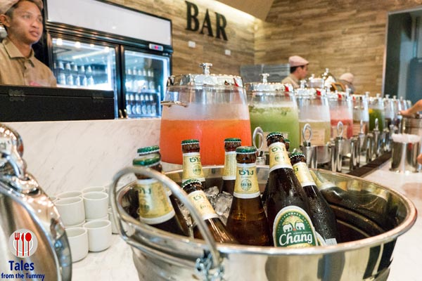 Four Seasons HotPot City MOA Chang Beer and Drinks