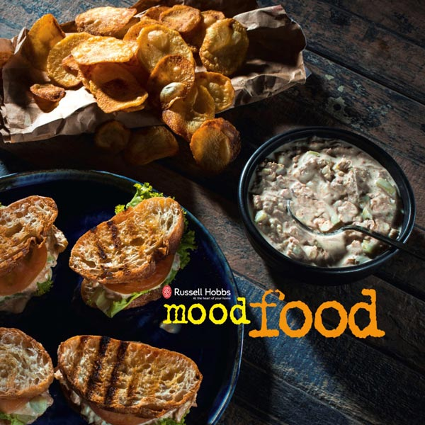 Chef JP Anglo Mood Food Russell Hobbs Cover