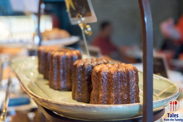 The Breadery Ortigas Emerald Canele