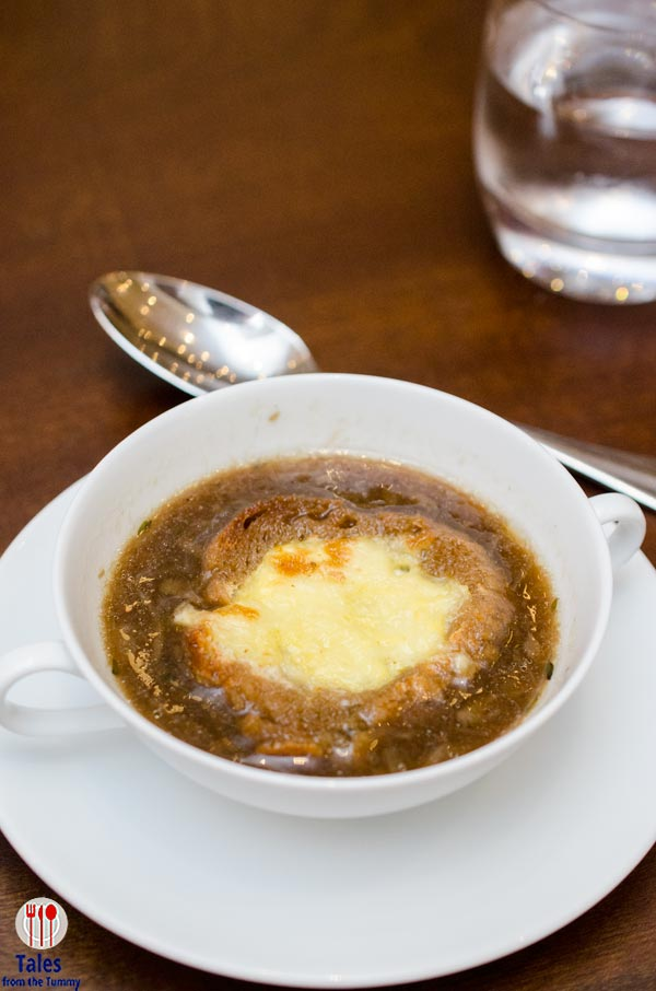 The Cafe Hyatt City of Dreams French Onion Soup