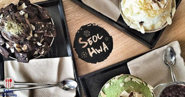 Cafe Seolhwa Bingsu Korean Desserts in Forum BGC