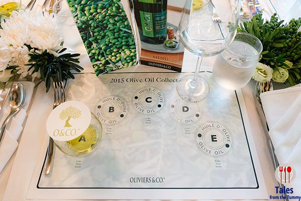 Oliviers and Co Olive Oil Pairing