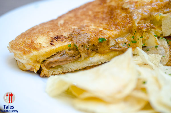 UCC Coffee Pulled Pork Grilled Cheese