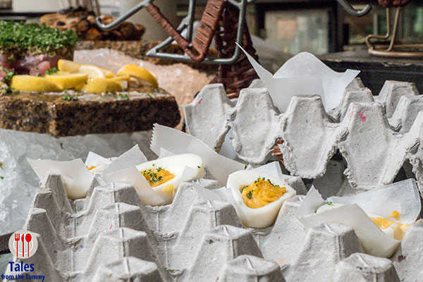 Spectrum Sunday Brunch at the Ranch Deviled Eggs