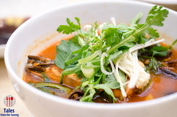 City of Dreams Signature Club Jagalchi Seafood Soup