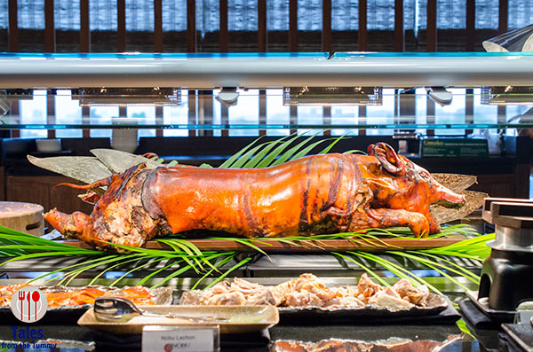 Nobu Manila Sunday Brunch Lechon