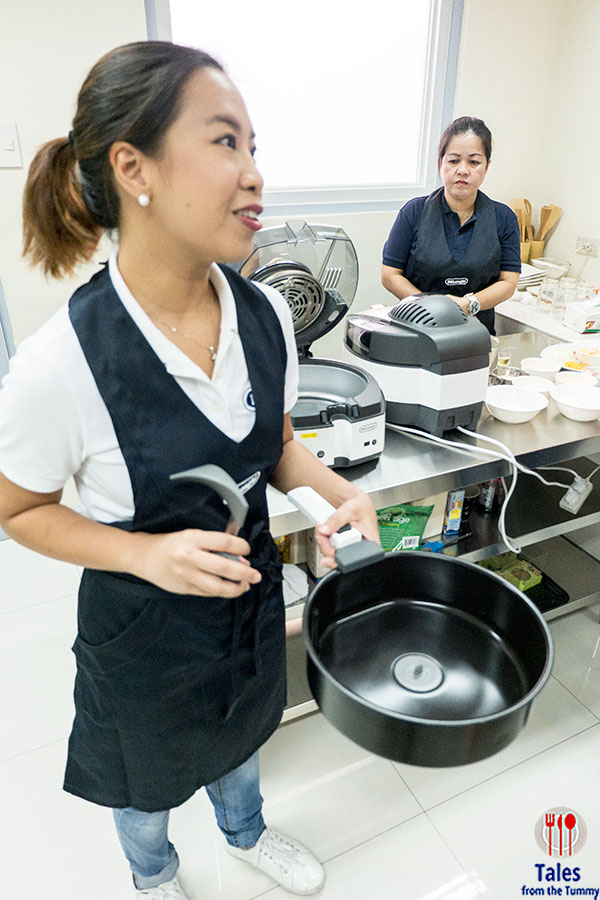 Delonghi Multifry Chef Mitchie Sison