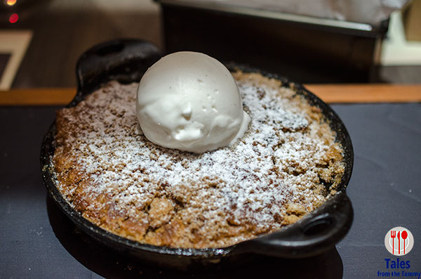 Raging Bull Chophouse Bar BGC Granny Smith Apple Cobbler