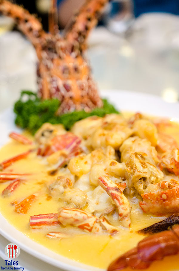 Xiu Greenhills Baked Lobster with Cheese